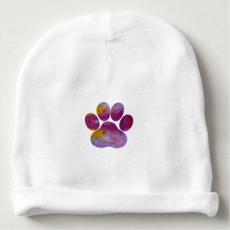 Dog Paw Print Baby Beanie
