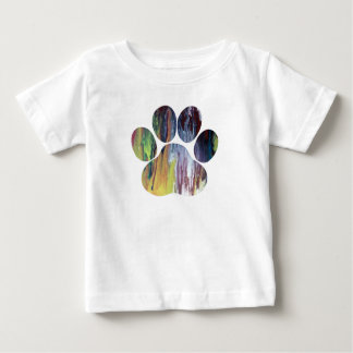 Dog Paw Print Baby T-Shirt