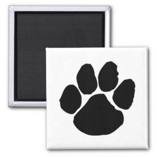 Dog Paw Print Fridge Magnet