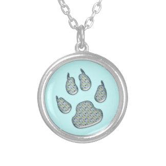 dog paw print pendants