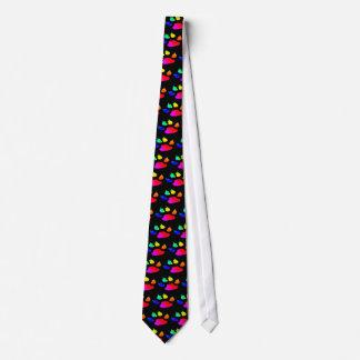 dog paw print tie