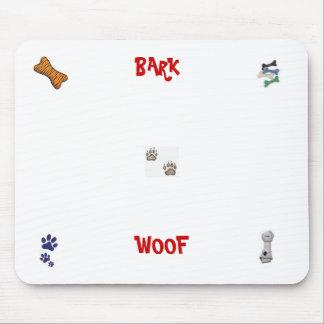 DOG PAWS, dog toy, DOG BONE, dog bones, dog paw... Mouse Pad