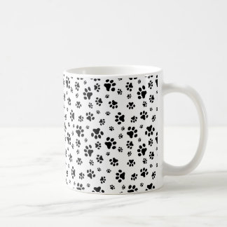 Dog Paws Pattern Coffee Mug