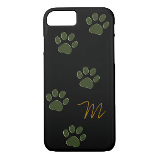 dog paws personalized iPhone 7 case