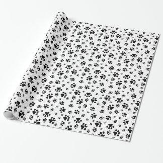 Dog Paws Print Pattern