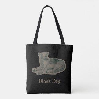 Dog. Pencil drawing. Tote Bag
