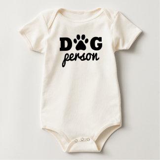 Dog person baby bodysuit