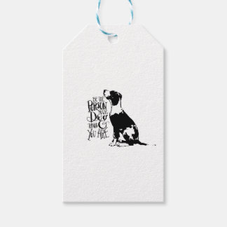 Dog person gift tags