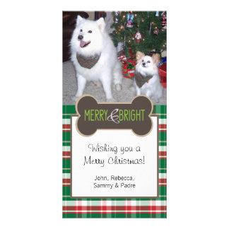 Dog Photo Christmas Greeting Customised Photo Card