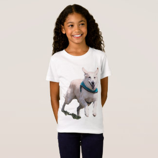 Dog Picture Girl's T-shirt