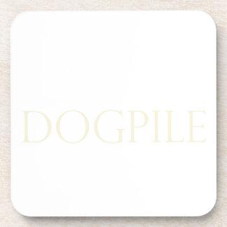 DOG PILE DRINK COASTERS