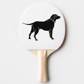 dog ping pong paddle