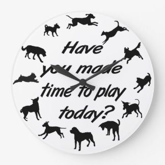 Dog Play Time Clock