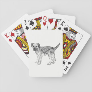 Dog Playing Cards - Border Terrier