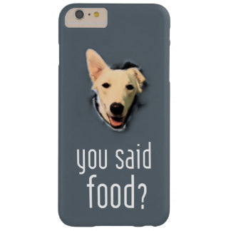 Dog pops for food on iPhone 6/6s Plus Phone Case