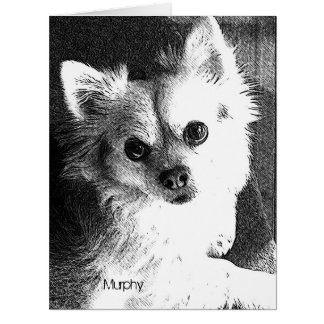 Dog Portrait Greeting Card