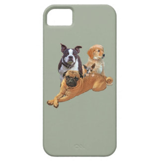 Dog posse with cat iPhone 5 covers