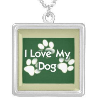 Dog Print Necklace