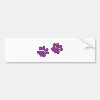 Dog Prints Bumper Stickers
