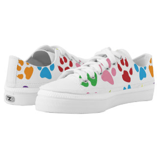 Dog Prints Shoes Printed Shoes