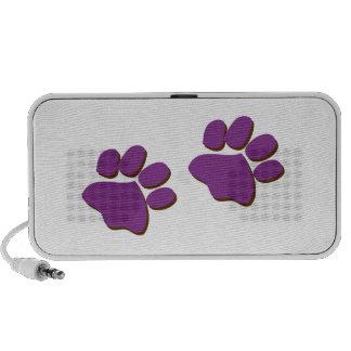 Dog Prints Travel Speakers