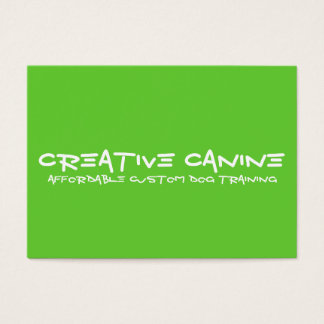 Dog Professional Business & Advertising Card