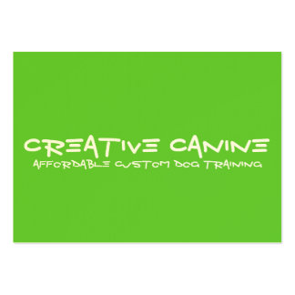 Dog Professional Business & Advertising Card Business Cards