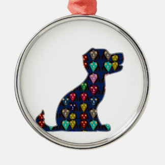 DOG PUPPY PET Gifts for Kids and Animal Lovers Metal Ornament