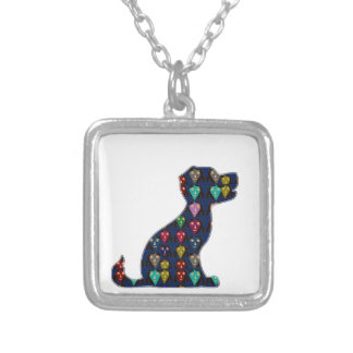 DOG PUPPY PET Gifts for Kids and Animal Lovers Silver Plated Necklace