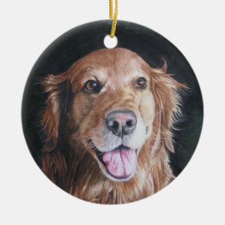 Dog Remembrance Ornament /Golden Retriever