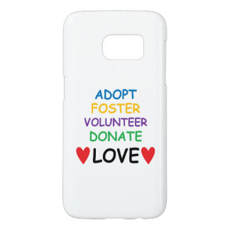 Dog Samsung Phone Case Rescue Adopt Volunteer Love