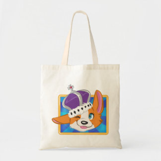 Dog Save the Queen- Game Icon Tote Bag