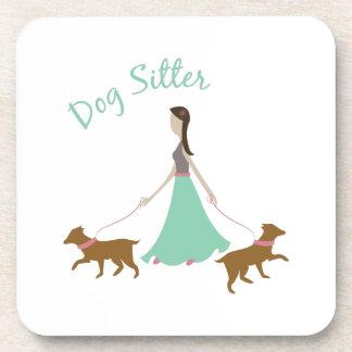 Dog Sitter Beverage Coasters