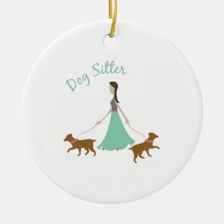 Dog Sitter Ornament