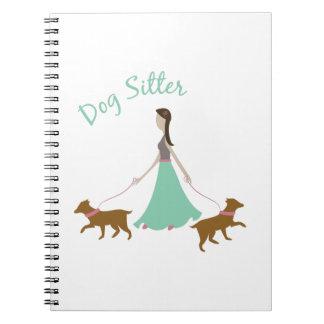 Dog Sitter Spiral Notebook
