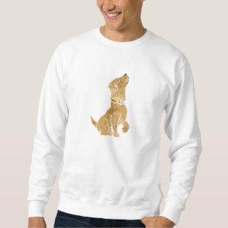 dog sitting. adopt a pet. sweatshirt