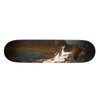 Dog Skateboard Deck