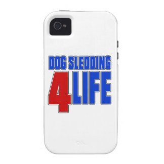DOG SLEDDING 4 LIEE iPhone 4 CASES