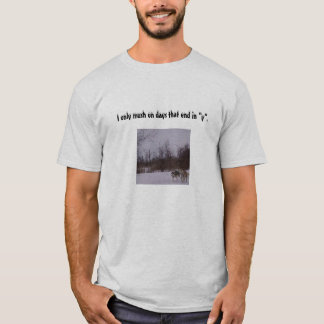 Dog Sledding T-Shirt