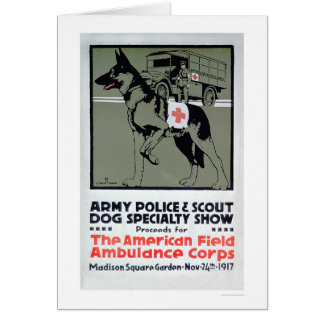 Dog Speciality Show (US00277) Greeting Card