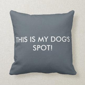 Dog Spot Pillow