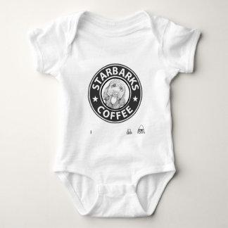dog Starbucks Baby Bodysuit