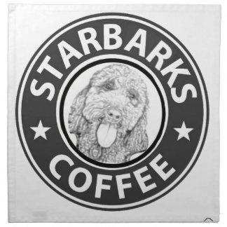 dog Starbucks Napkin