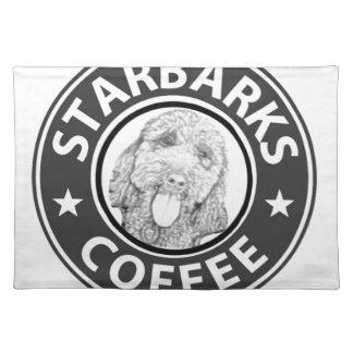 dog Starbucks Placemat