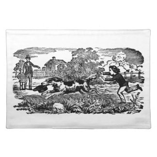 Dog Stealing A Hat Placemat