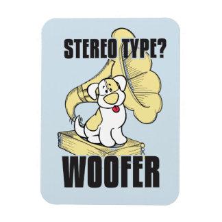 Dog stereo magnet