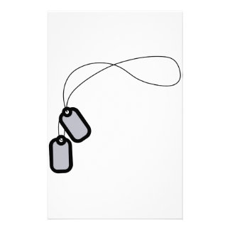Dog Tags Stationery