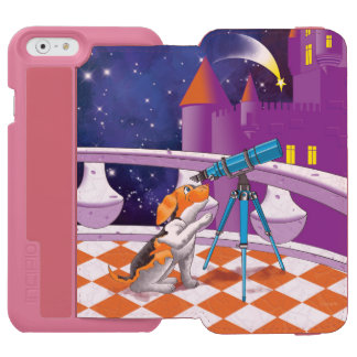 dog telescope incipio watson™ iPhone 6 wallet case