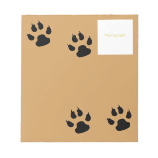 Dog Template Notepads