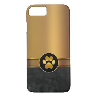 Dog Theme Paw Print iPhone 8/7 Case